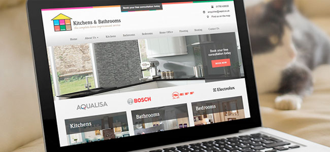 Kitchens and Bathrooms website