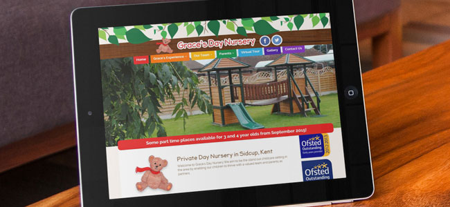 Graces Day Nursery Website