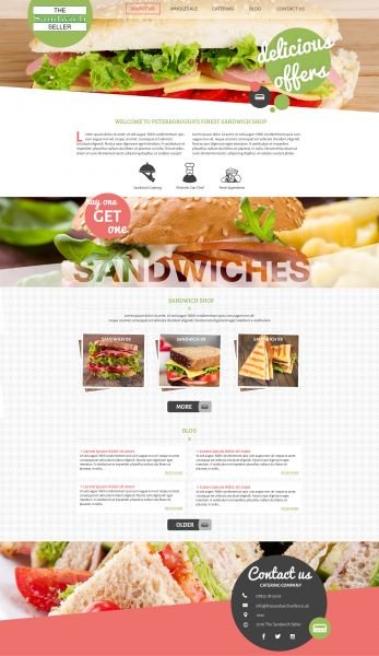 The Sandwich Seller - design - v1b