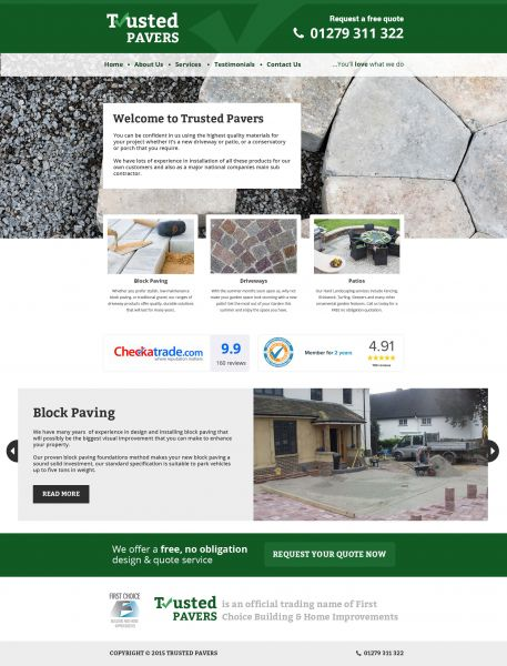 Trusted Pavers